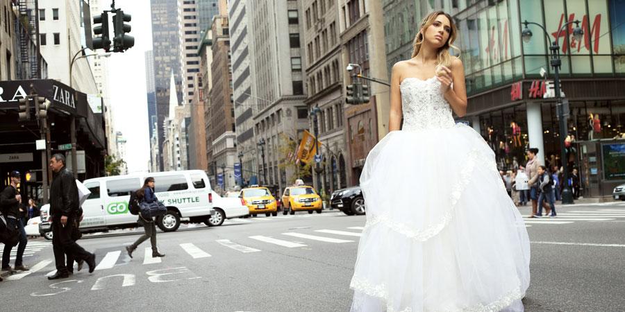 New York Bridal Week Abiti Mariella Gennarino