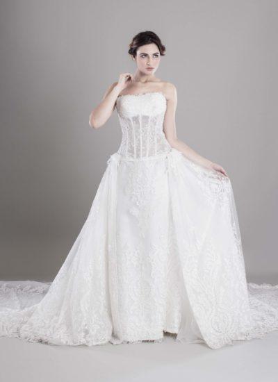 Atelier alta moda Catania - Abito da sposa Mariella Gennarino
