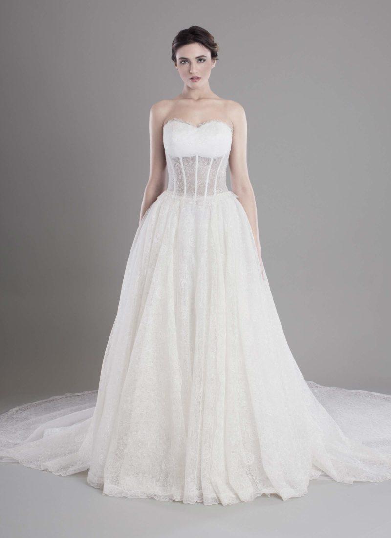 Atelier alta moda abito da sposa Catania Mariella Gennarino