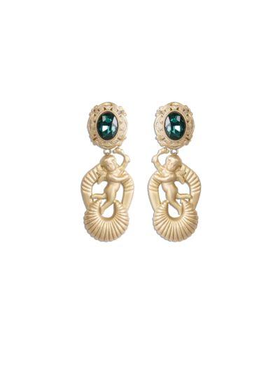 Alta moda Mariella Gennarino: orecchini con angeli