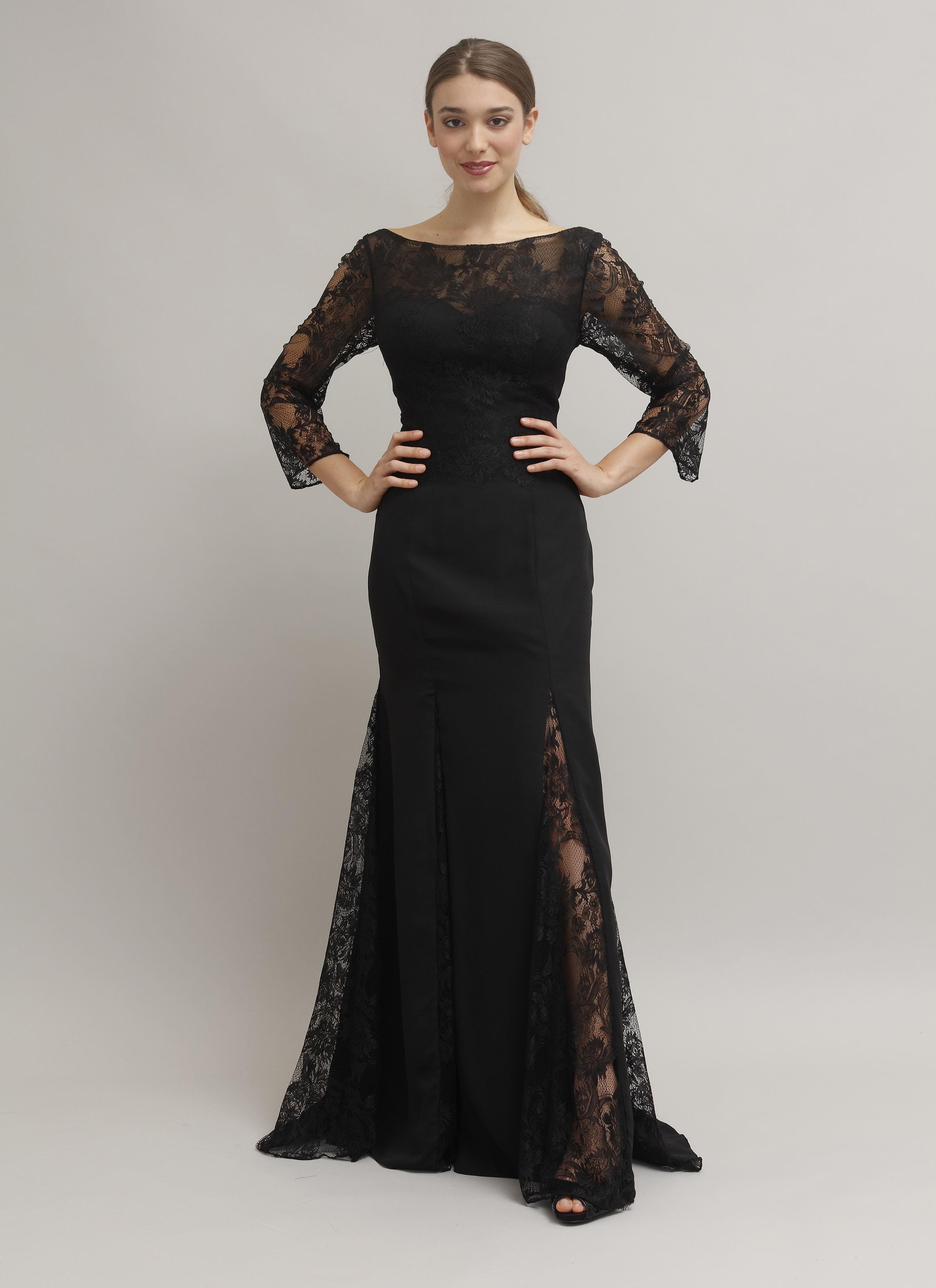 best website 96d65 d04ad Violante | Abito da cerimonia alta moda con spacchi laterali