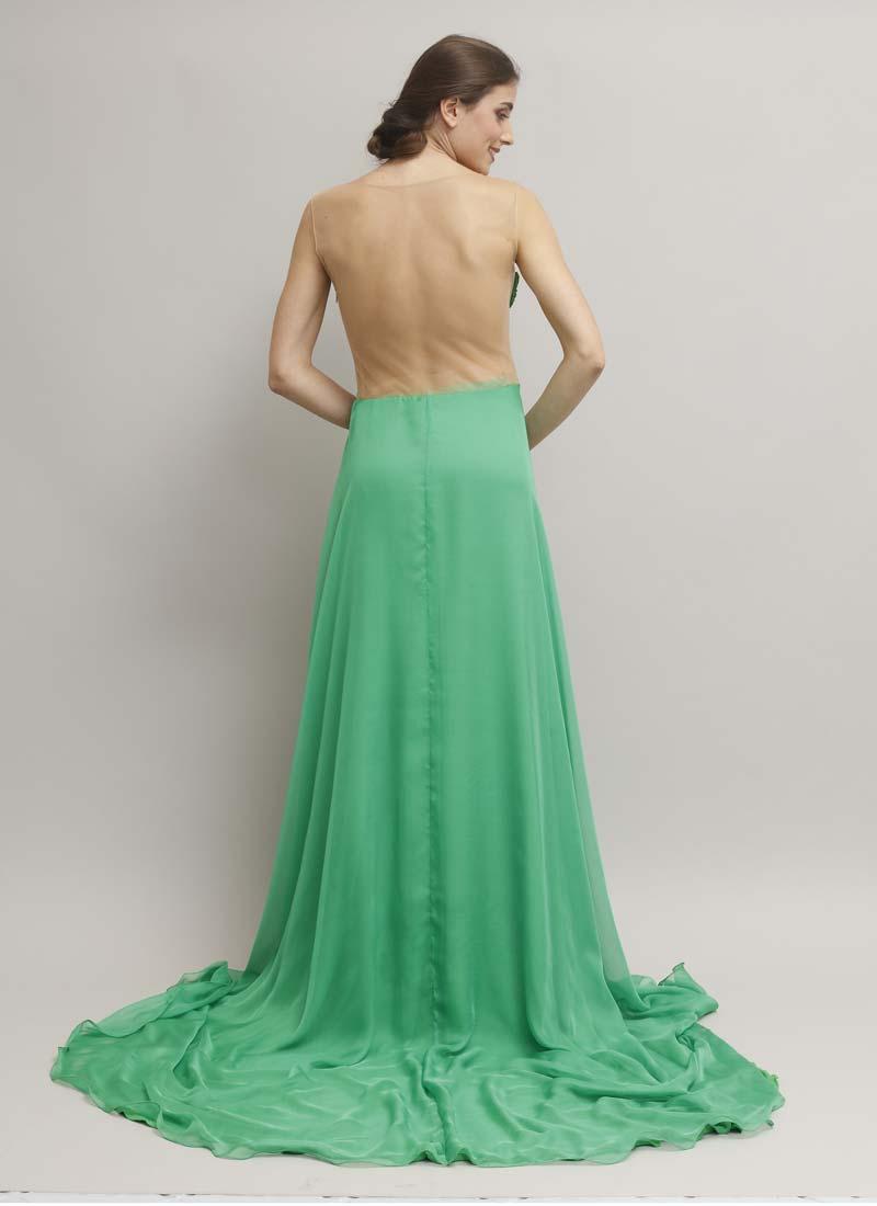 ... trasparente - alta moda Mariella Gennarino. abito-cerimonia-verde-con- schiena-trasparente dietro 917004566b2