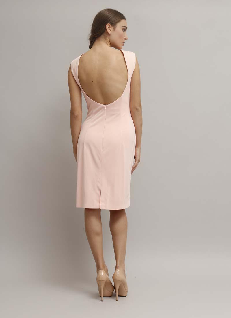 abito-tubino-rosa-schiena-scoperta_dietro