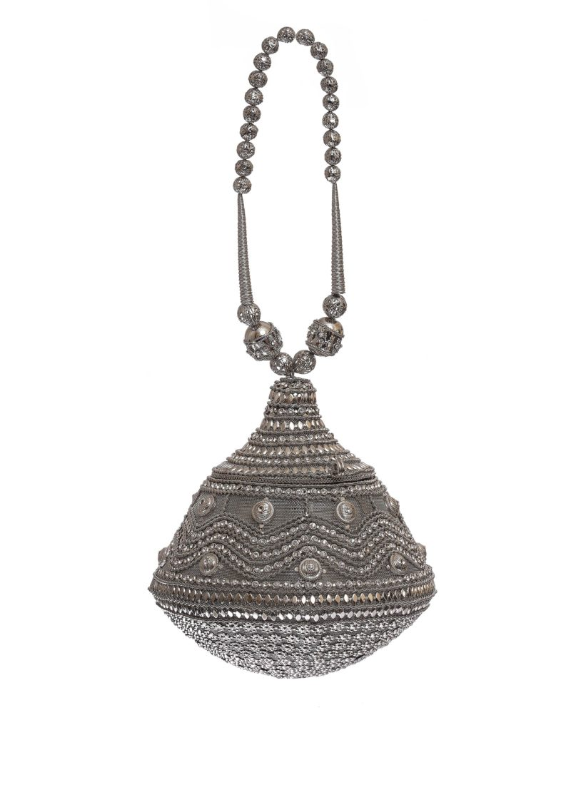 Boule argento con swarovski Mariella Gennarino