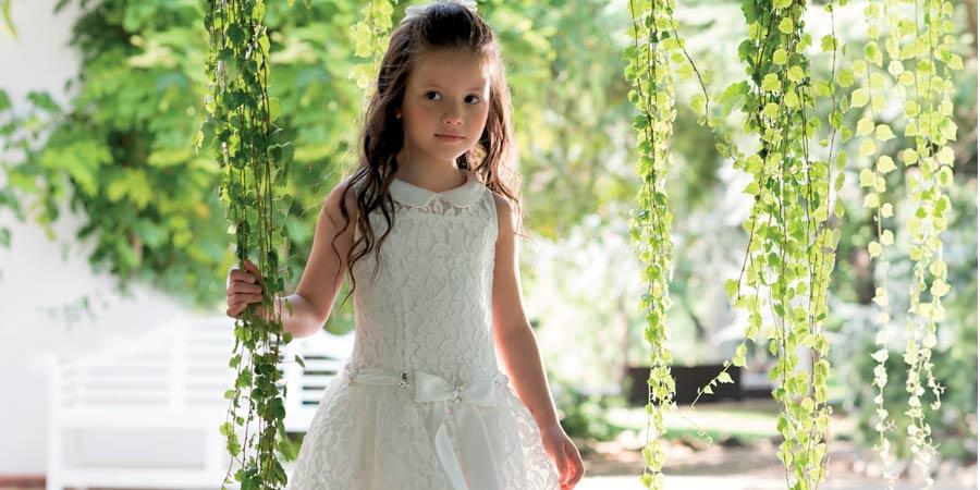 Vico dei fiori chiari abiti comunione bambine catania